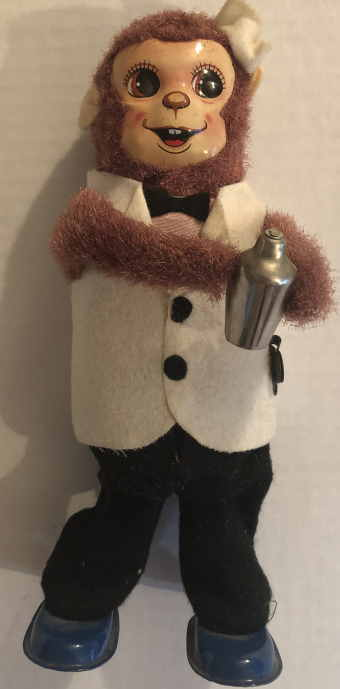 VTG BAR TENDER MONKEY by VINTAGE TOYS