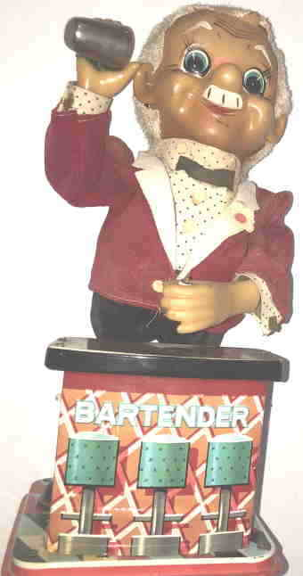VTG BAR TENDER by VINTAGE TOYS