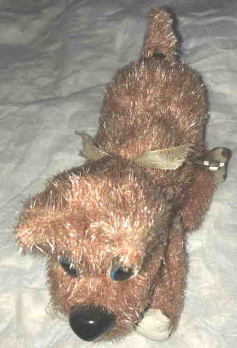VTG BROWN DOG by VINTAGE TOYS