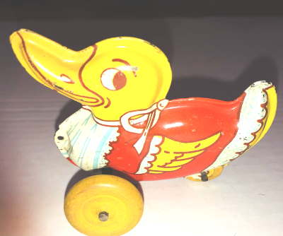 VTG DUCK WYANDOTTE TIN LITHO  by VINTAGE TOYS