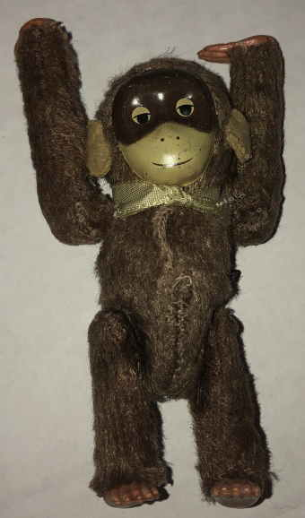 VTG BROWN MONKEY  by VINTAGE TOYS