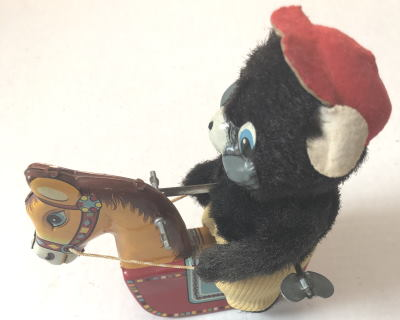 VTG BEAR ROCKING HORSE by VINTAGE TOYS