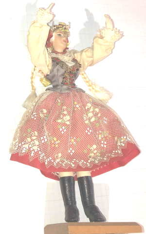 VTG DOLL CEPALIA POLAND by New Arrivals